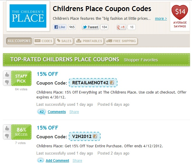 Groupon coupon code retailmenot